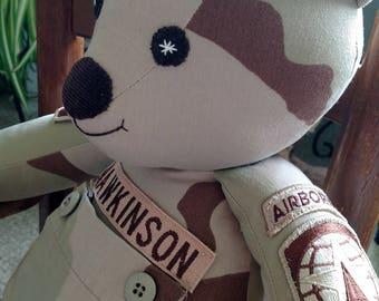 "22""  Military Bear"