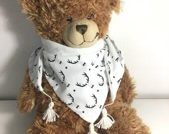 Baby deer scarf
