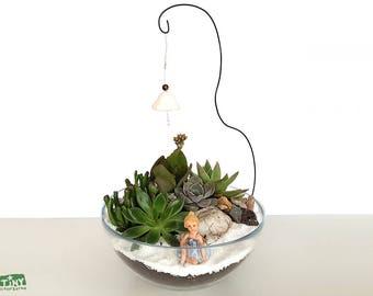 Fairy Garden Succulent Bowl Terrarium