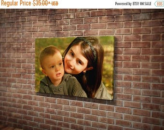 Summer SALE Mother's day gift photo canvas print