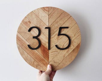 Modern House Numbers, House Number Sign, House Numbers, Address Sign, Modern Address Sign