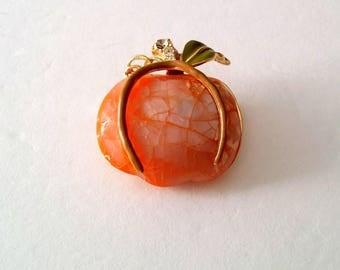 Vintage Liz Claiborne Apple Brooch