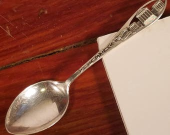 Antique Virginia Souvenir Spoon, Sterling Silver