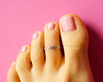 Silver Toe Ring | Ri Silvery | Knuckle ring | Midi ring