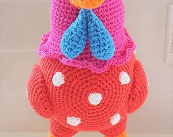 Hand Crocheted Henny Penny