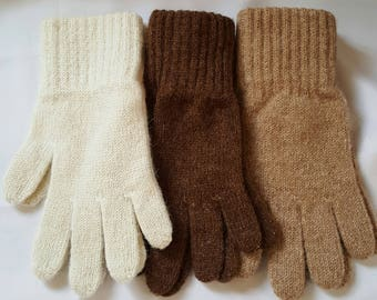 Alpaca gloves-small