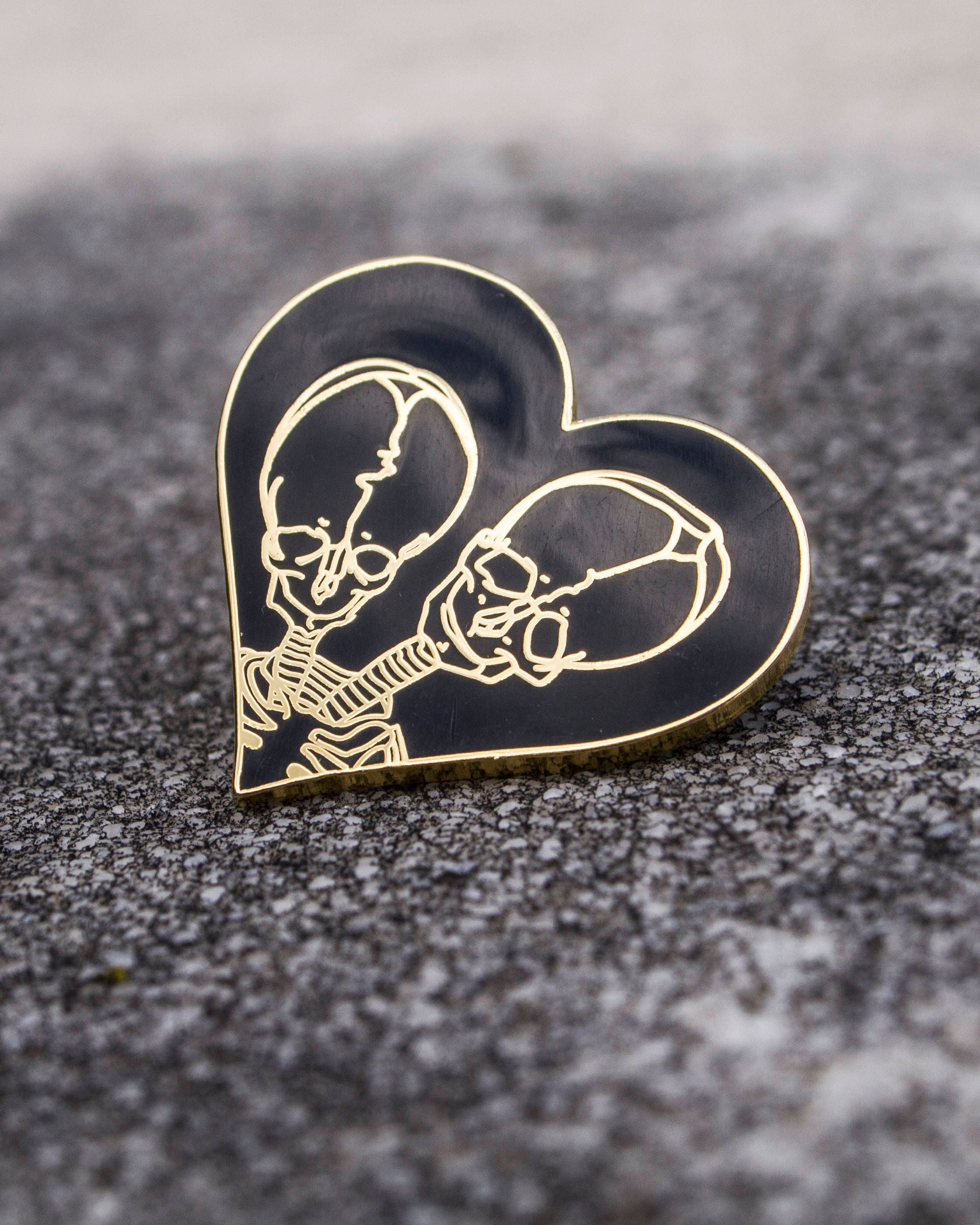 Together Forever Pin and Patch Combo