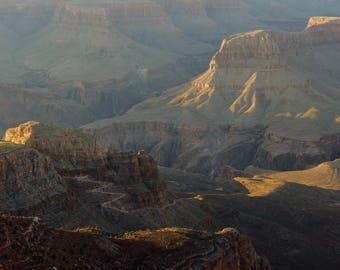 Grand Canyon Poster, Arizona Landscape Photography, Desert Landscape, Southwest Wall Art, Southwestern Photo, Canvas Wall Art, Ready to Hang