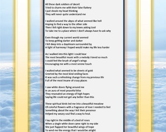 Heavenly Daydreams - Printable Poetry Instant Download