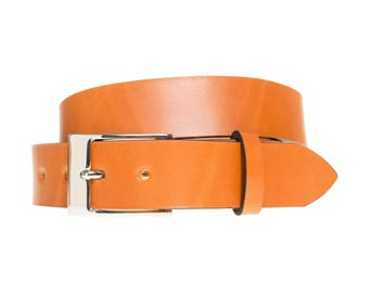 Tan Brown Leather Belts | Handmade Leather Belts | Custom Belts | Brown Belts | Mens Brown Belt | Men Belts | 3rd Anniversary Gifts