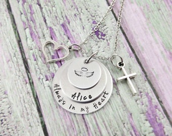 Infant Loss Necklace - Infant Remembrance - Baby Memorial - Baby Loss Keepsake - Baby Loss Jewelry - Infant Memorial Jewelry