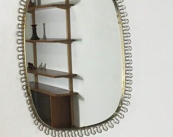 Mirror 60 He years brass mirror loop mirror
