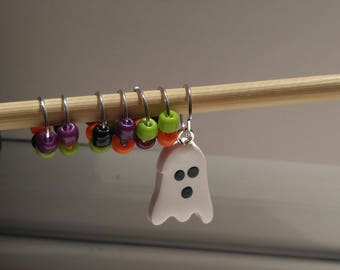 Halloween Stitch Markers (Set of 7)