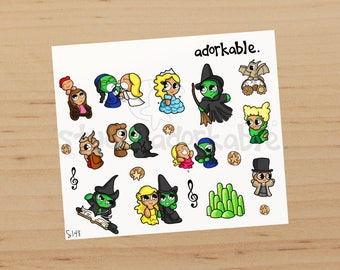 Wicked Bits Glossy Stickers / S148