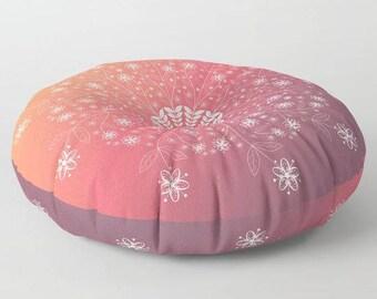 floor pillow,floor cushion,floor seating,meditation pillow,floor pouf,large floor pillow,mandala floor pillow,lounge seating,gift,home decor