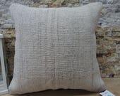 decorative kilim pillow 18x18 anatolian kilim pillow tribal kilim pillow natural kilim pillow aztec pillow turkey pillow home decor code 329