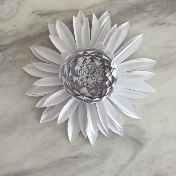 Paper Gerbera Daisy Template Paper Flower Template