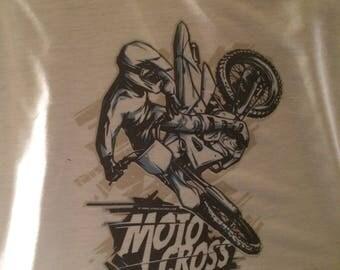 Motorcross t shirt