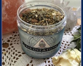Meditation Herbal Incense Blend