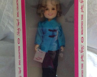 Ideal Shirley Temple Doll 1982 mint in box Stowaway 12""
