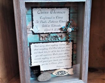 Customized Confirmation Gift, Personalized Confirmation Gift, Confirmation gift for boy, Confirmation gift from sponsor, gift from Godparent