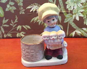 Vintage Little Luvkins Figurine-Planter