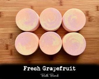 Fresh Grapefruit Bath Bombs