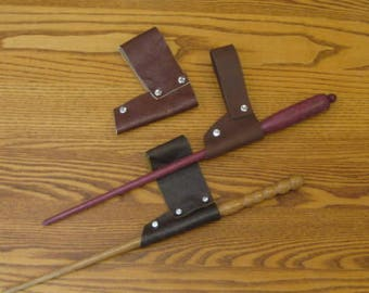 Harry Potter Inspired Leather Wand Holster