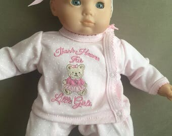 Thank Heaven For Little Girls Outfit For Bitty Baby With American Girl
