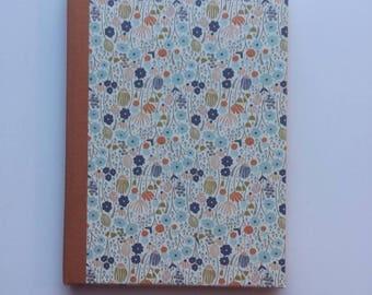 NOTEBOOK FLOWER VINTAGE bookbinding