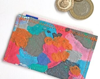 Travel Card Holder, Handmade Oyster Card Holder, Travel Card, Business Card Holder