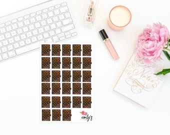 Louis Vuitton Planner Stickers