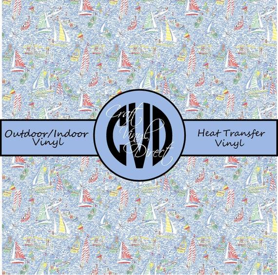 Beautiful Patterned Vinyl // Patterned / Printed Vinyl // Outdoor and Heat Transfer Vinyl // Pattern 88