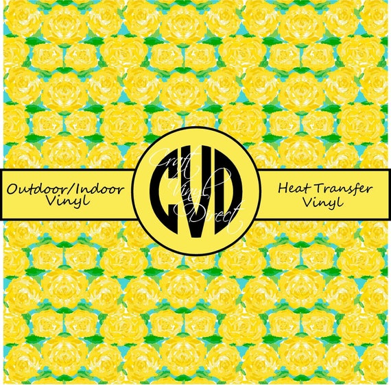 Beautiful Patterned Vinyl // Patterned / Printed Vinyl // Outdoor and Heat Transfer Vinyl // Pattern 141
