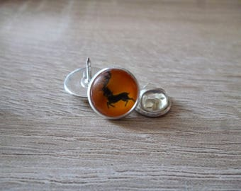 Transparant badges badge cabochon Baratheon - Game of Thrones - 12 mmo - Cabochon glass
