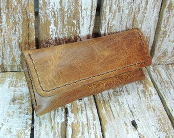 Tobacco Pouch / Rolling Tobacco Case / Leather Tobacco Case / Rolling Tobacco Pouch / Leather Smoke Pouch