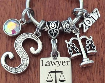 LAWYER Gifts, Lawyer Keychain, Gifts For Lawyer, Attorney Gifts, Gifts For Attorney, Scales Of Justice Keychain, Gifts For Law Student, Law