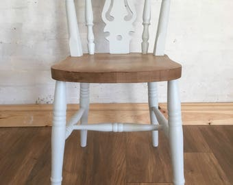 FIDDLE - Yorkshire Fiddleback Chair with stained seat