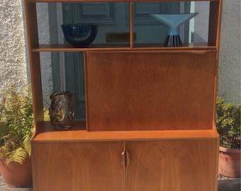Sutcliffe S Form 1960s room divider teak wall unit