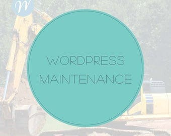 Wordpress Maintenance, Wordpress Help, Website Maintenance, Website Update, Wordpress Support, Hourly Package for Wordpress