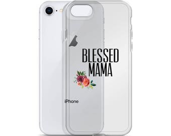 Blessed Mama iPhone Case