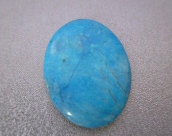Magnesite Turquoise Cabochon 1pc