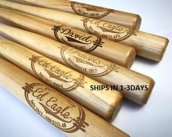 Ring Bearer Gift, Mini Baseball Bat, Personalized Bat, Coach Gift, Groomsmen Gift, Custom Engraved, Baseball Bats, Gift for Him