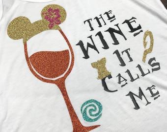 Moana Shirt, Moana Wine, Food And Wine Shirt  Disney Princess Drinking Shirt, Food And Wine, Disney Drinking, Epcot Food And Wine, Disney