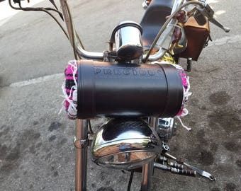 Leather Blanket Roll / bed roll / leather roll / leather / harley Bag / Leather Bag
