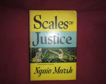 1955 ** Scales of Justice ** Ngaio Marsh**sj