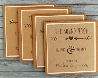 "Wedding Favor CDS ""Rustica"""