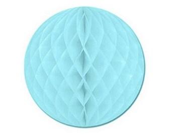 Ball dimpled light blue color size 20 cm