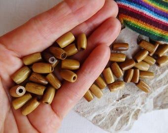 Yak bone bead