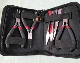 8 Pc. Jewelry Tool Set with Case (B321/322)